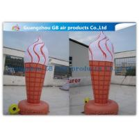 Wholesale 3m Ice Cream Cone Inflatable Advertising Signs For Outside Decorations Events from china suppliers