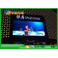 Wholesale SMD Full Color P6 LED Advertising Screens Panel Fix Installation With Pole Support Type from china suppliers