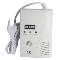 Wholesale 110v/220v AC Power Natural Gas Detector Alarm with 9V Battery backup from china suppliers