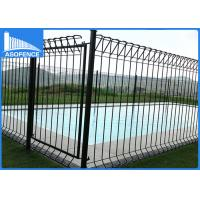 Wholesale Q195 / Q235 BRC Roll Top Fence Electric For School / Factory , CE ISO Listed from china suppliers