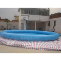 Wholesale Customized Round Inflatable Water Pool With Durable PVC Tarpaulin from china suppliers