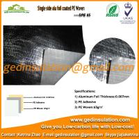 Wholesale Single side Aluminum foil coated PE Woven from china suppliers