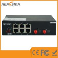 Wholesale 512Kb unmanaged gigabit switch No fan , 6 port ethernet switch with 2 fiber optic ports from china suppliers