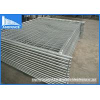 Buy cheap Easily Assemble Silver Painted Temporary Fencing Panels With High Strength from wholesalers