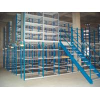 Wholesale Multi - tier mezzanine racking system(2-3 floor) 150- 500KG per level capacity from china suppliers
