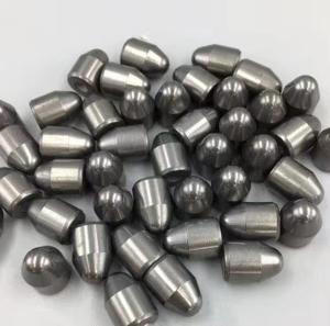 China zhuzhou cemented carbide mining button, tungsten carbide button, hardmetal button on sale
