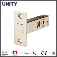 China 60 Backset French Door Latches Hardware Stainless Steel Forend on sale