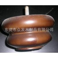 Buy cheap Chinese Classical-Style Oblate Calabash Wooden Furniture Legs Round ForSofa 130 X 70 mm from wholesalers