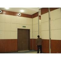 Buy cheap Hanging Room Divider Auditorium Ceiling Materials Sliding Folding Movable Wooden Partition Walls from wholesalers