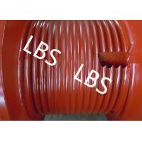 Quality Oil Field Machinery Wire Rope Drum High Strength Steel Left / Right Rotation for sale