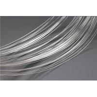 Wholesale Soft Silver Plated Wire For Electrical Contacts / Nickel Plated Wire High Arc Erosion Resistance from china suppliers