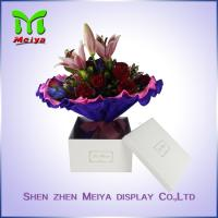 Wholesale Custom Square Flower Gift Packaging Boxes With Logo Foil Stamping from china suppliers
