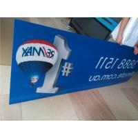 Wholesale Indoor Custom Sign Boards Shape Cutting For Informational Signage / Menu Boards from china suppliers