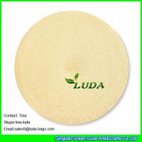 Wholesale LUDA pp braided tabel placemats round personalized placemats canada from china suppliers