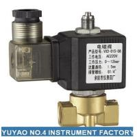 Wholesale Stainless Steel 3 Way Solenoid Valve Normally Open , High Pressure 1/4'' Solenoid Valve from china suppliers