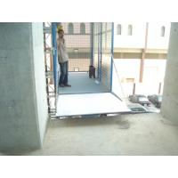 Quality Blue Cage Of Construction Hoist Elevator , Building Lifting Machine for sale