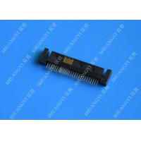 Wholesale Server Serial Attached SCSI Connector , Rectangular SMT 12G / 6G SATA  SAS Connector from china suppliers