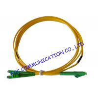 Wholesale LX.5 / APC - LC / APC fiber optic patch cables SFF Type Suitable For FTTH from china suppliers