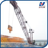 Wholesale 10 t Derrick Crane 18 meters Range 150m Height Building Construction Equipment from china suppliers