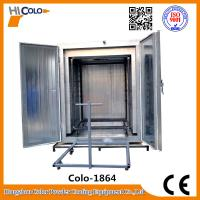 Wholesale 12kw Manual Powder Coating Oven Insulation With Trolley One Year Warranty from china suppliers