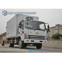 Wholesale FAW Light Duty 3000KG Refrigerated Box Truck Fresh Meat And Fish Transport Truck from china suppliers
