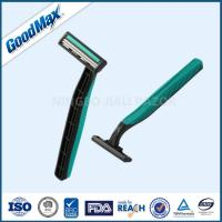 Rubber Handle Twin Blade Disposable Razor Any Color Available ISO Certificate