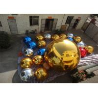 Buy cheap Inflatable Colorful Mirror Balloon Event Use Inflatable Ground Mirror Ball from wholesalers