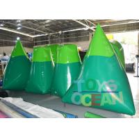 Wholesale Blue / Green Inflatable Paintball Obstacle Paintball Air Bunkers For Shooting Game from china suppliers