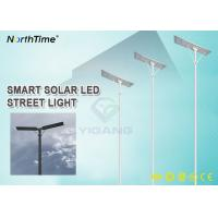 Wholesale 120 Watts Energy Saving IP65 Waterproof Outdoor All In One Integrated PIR Sensor Solar LED Street Lights from china suppliers