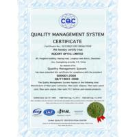 KOCENT OPTEC LIMITED Certifications