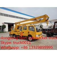 Wholesale factory sale best price Dongfeng duolika high altitude operation truck,dongfeng couble cab 12m-16m bucket truck for sale from china suppliers