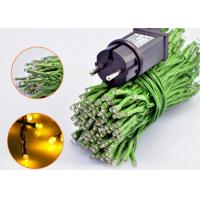 China Thick Green Cable LED Party String Lights Waterproof Decorative 100 Bulbs on sale