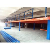 Wholesale 1000kg Heavy Duty Metal Industrial Mezzanine Floors For Warehouse / Office from china suppliers