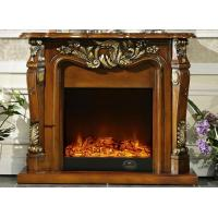 Wholesale Luxurious Antique Fireplace TV Cabinet By Remote Control , Eco Friendly from china suppliers