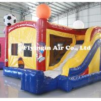 Wholesale Hot Rocket Bounce Castle Inflatable Zorb Slide with Blower for Sale from china suppliers