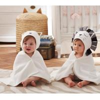 100% Polyester Double Side Soft Embroidered Baby Blankets Flame Resistant