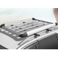 Wholesale Universal Auto Roof Racks , Aluminium Alloy Roof Luggage Carrier With Two Handles from china suppliers