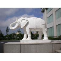 Wholesale Cheap natural marble elephant stone carving sculpture from china suppliers