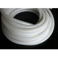 Wholesale Polyester Braid Silicone Rubber Tubing , Flexible Silicone Hose Food Grade Without Smell from china suppliers