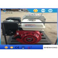 Quality Lightweight 30KN Petrol Gas Engine Powered Winch With HONDA Engine for sale