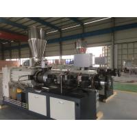 Wholesale Conical Double Screw Extruder PVC Sheet Extrusion Line , Plastic Extrusion Equipment from china suppliers