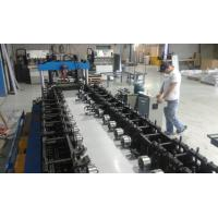 Buy cheap 100mm-275mm Width Galvanized Steel Rack Shelving Shelf  Roll Forming Machine Fully Automatic from wholesalers