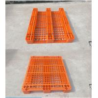 Wholesale Molded 4000kgs Industrial Plastic Pallets Single Faced Heavy Duty Nestable Rack from china suppliers