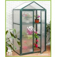 Wholesale 108x55x158cm Green Color Double Door Nursery Series Garden Greenhouse from china suppliers