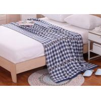 Wholesale Large Knit Blanket 100% Polyester , Personalised Knitted Blanket from china suppliers