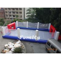 Wholesale Collapsible Large Inflatable Soccer Field Environmental friendly from china suppliers