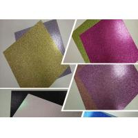 "Wholesale 12 "" * 12 ""  Weight 300g Glitter Card Paper Corrugated Paper Card Stock Paper from china suppliers"