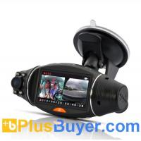 Wholesale Dual Camera Car DVR with GPS Logger and G-Sensor - 2.7 Inch Screen from china suppliers