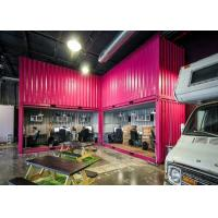Wholesale Recycled Eco - friendly 40 Feet Modified Combined Containers For Stylish Open Office from china suppliers