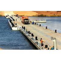 Quality Heavy Loading Capacity Floating Water Bridge With Single Pontoon for sale